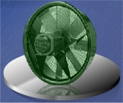 ring mounted axial fans